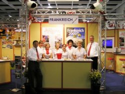 Touren Service at a tourism fair in Germany in 2004